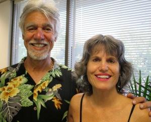 Oscar Maynez and Trudy Bixby