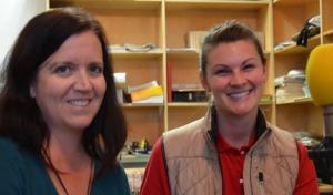 Hearts Therapeutic Equestrian Center Volunteer Coordinator, Dawn Matson & Program Director, Devon Sachey